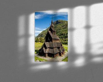 Borgund Stabkirche, Norwegen von Adelheid Smitt
