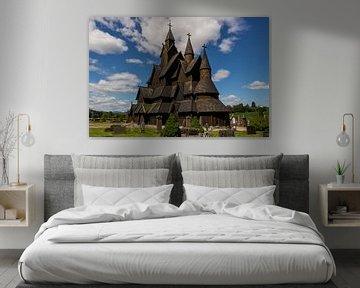 Heddal Stabkirche, Norwegen von Adelheid Smitt