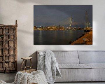 Rotterdam Erasmusbrug Kop van Zuid van Han Kedde