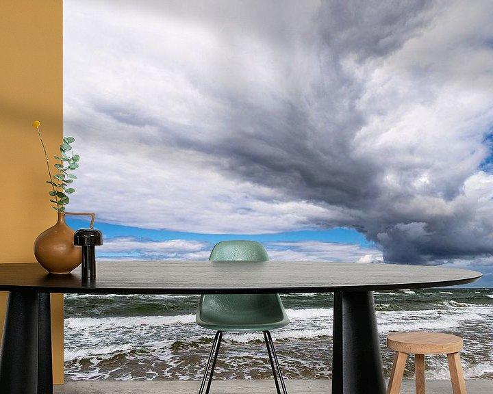 Beispiel fototapete: Der Weststrand auf dem Fischland-Darß von Rico Ködder