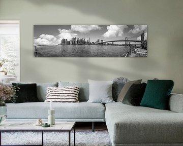 Panoramafoto von Downtown Manhattan von Ivo de Rooij