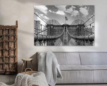 Brooklyn Bridge van Ivo de Rooij