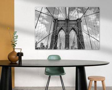 Brooklyn-Brücke von Ivo de Rooij