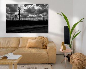 Zug im Hafen von Cathfish photography by Cathie Lefieuw