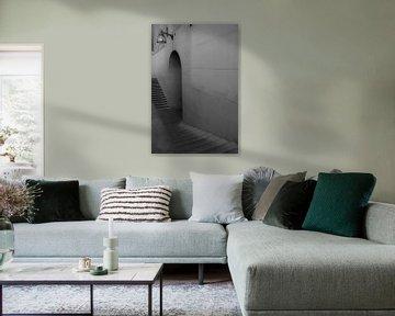 Treppe von Cathfish photography by Cathie Lefieuw