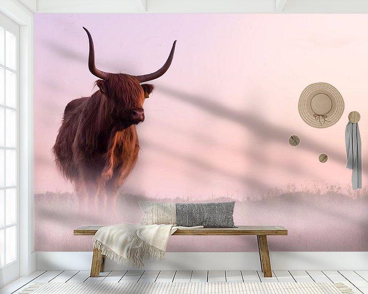 Beispiel fototapete: Schottischer Hochlandbewohner von Karel Ton