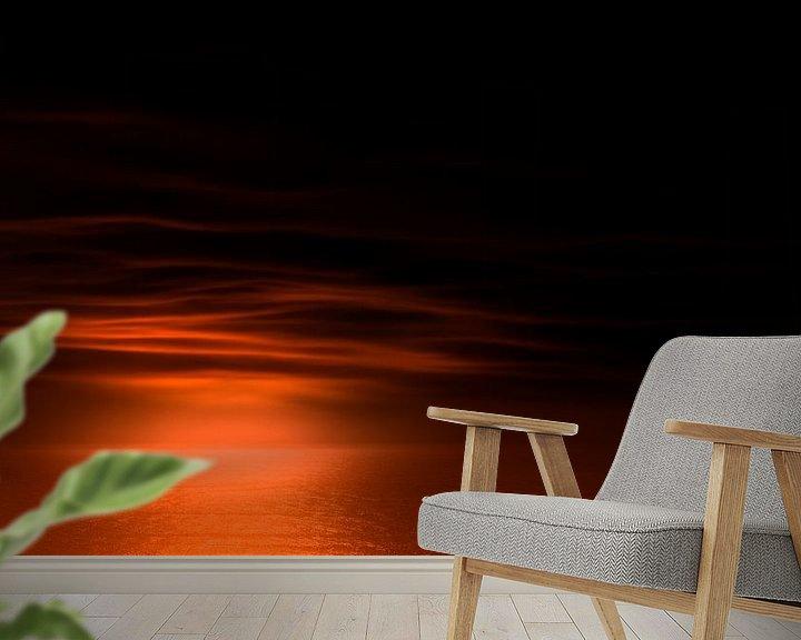 Sfeerimpressie behang: 0754 Good night van Adrien Hendrickx