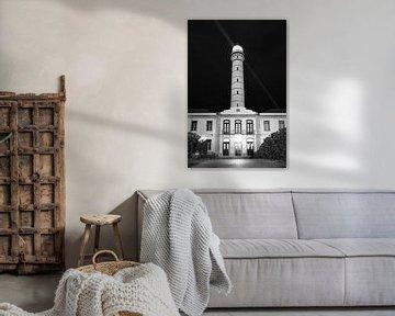 Leuchtturm Vila Real de Santo António, Portugal. von M. van Oostrum