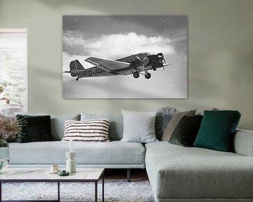 Junkers Ju 52/3m in schwarzweiß von Tilo Grellmann | Photography