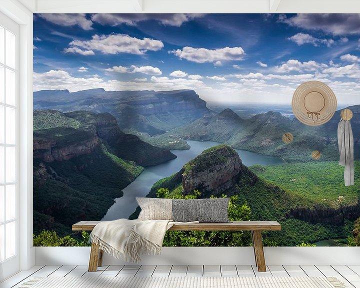 Sfeerimpressie behang: Blyde River Canyon van Karin vd Waal