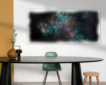 Abstrakte Fantasie-Nebel-Galaxie von Maurice Dawson