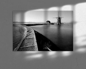 Mühle auf Texel. von M. van Oostrum