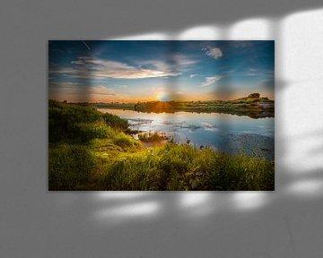 Sonnenuntergang von Jack van der Spoel