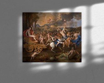 Der Triumph des Bacchus, Nicolas Poussin - 1636 von Atelier Liesjes