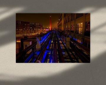Strijp S by night van Bob Crooymans