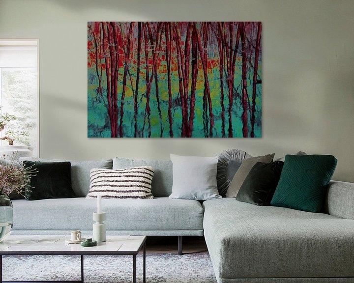 Sfeerimpressie: Dancing trees van Ina Muntinga