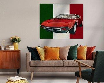 De Tomaso Pantera uit 1971 de vernieuwer uit Italië