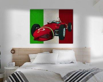Ferrari 156 Shark Nose 1961 de racewagen die Italië op de kaart zette