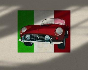 Ferrari 250GT Spyder California 1960 de Italiaanse sportwagen voor de elite