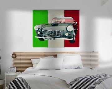 De Maserati 3500GT uit 1960 is een pure Italiaanse auto.