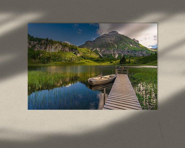 Beispiel: Körbersee im Lechquellengebirge von MindScape Photography