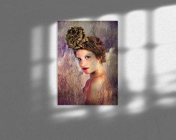 Jonge vrouw 4 van Henny Verbeek