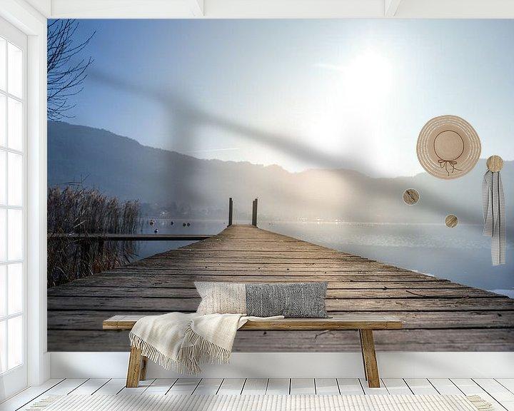 Beispiel fototapete: Steg von Florian Kampes