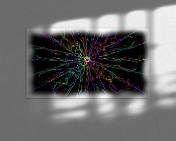 Abstrakte Neon-Farben von Maurice Dawson