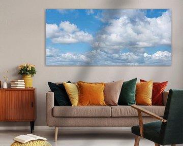 Wolkenlucht van Elles Rijsdijk