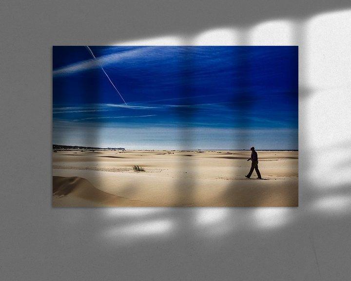 Impression: Promenade sur la plage de Terschelling sur Paul Teixeira