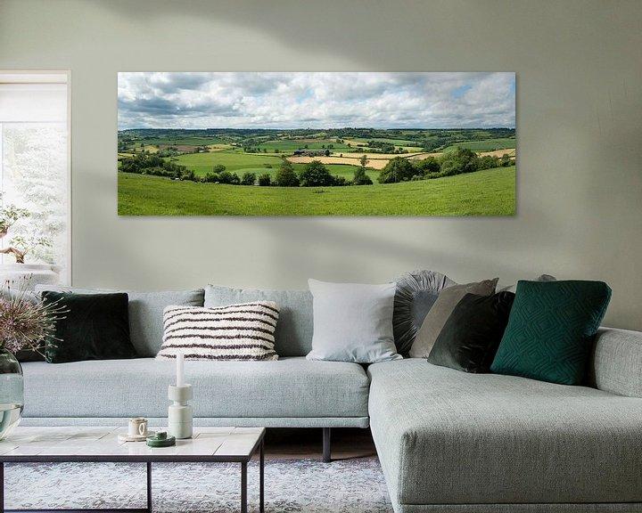 Sfeerimpressie: Cotswolds panorama van Elles Rijsdijk
