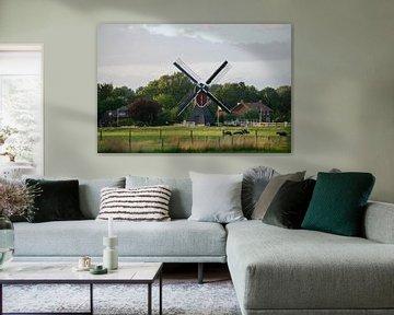 Mühle in den Niederlanden von Bart van Lier