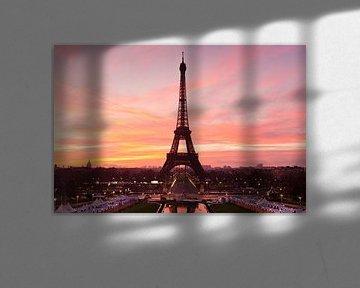 Eiffeltoren bij zonsopgang, Parijs, van Markus Lange
