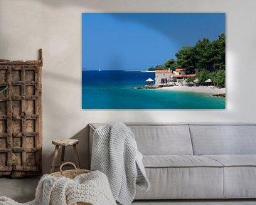 Haus am Strand, Insel Brac, Kroatien von Markus Lange
