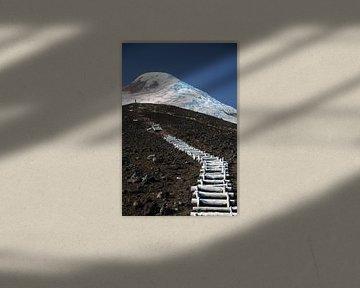 Stairway to Heaven, Vulcán Osorno, Chili van A. Hendriks