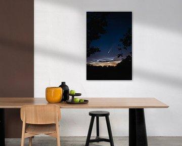 Neowise above noctilucent clouds sur Florian Kunde
