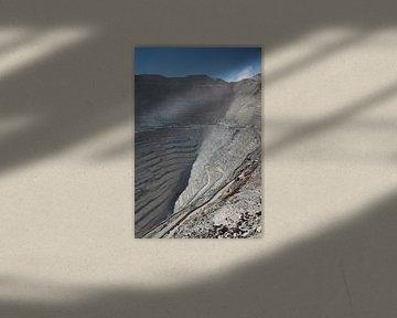 Chuquicamata, Open mijn nabij Calama, Chili van A. Hendriks