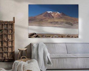 Salar de Ascotán, Vulkaan, Chili van A. Hendriks