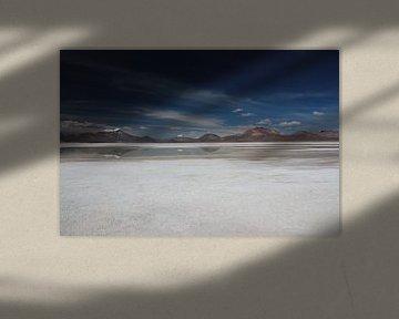 Zoutvlakte Chili, nabij San Pedro de Atacama van A. Hendriks