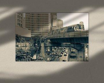 Zakencentrum van Bangkok van Bart van Lier