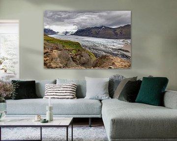 Vatnajökull gletsjer van Easycopters