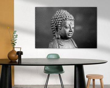 Mediterende Boeddha van Anneke Verweij