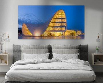 Architectuur in Baku, Azerbeidzjan van Adelheid Smitt