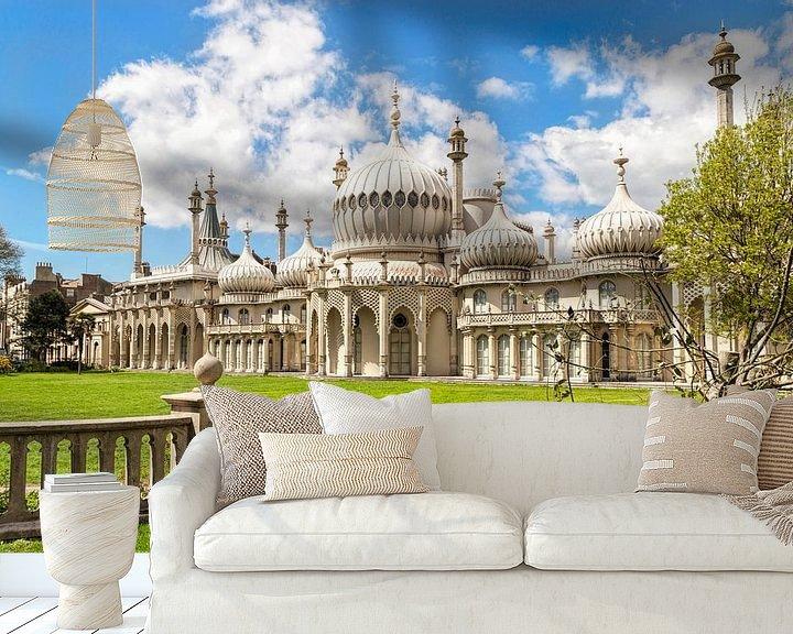 Beispiel fototapete: Königlicher Pavillon, Brighton, East Sussex, Großbritannien von Mieneke Andeweg-van Rijn