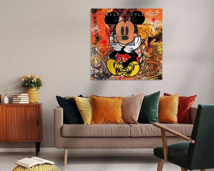 Beispiel: Mickey von Rene Ladenius Digital Art