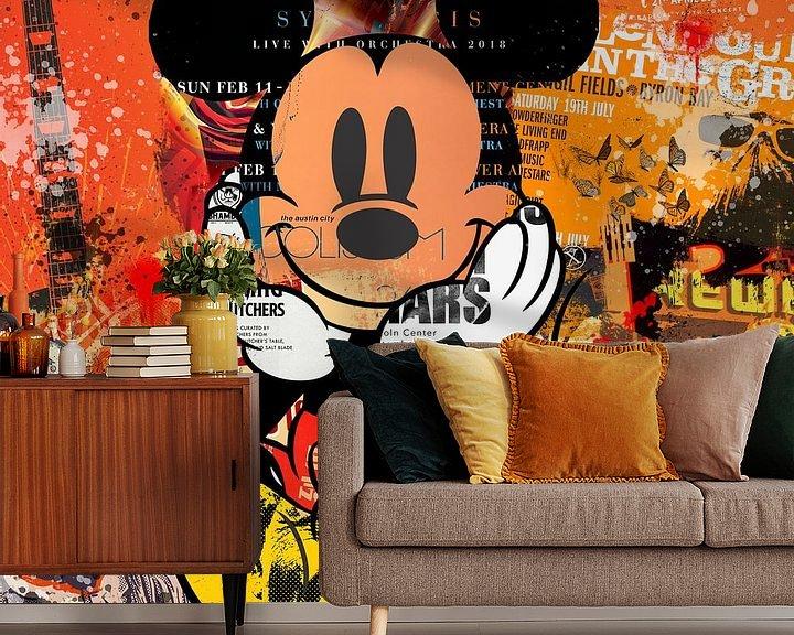 Beispiel fototapete: Mickey von Rene Ladenius Digital Art