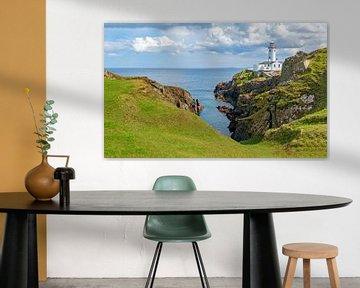 Fanad Head, auf der Halbinsel Fanad mit Blick auf den Atlantischen Ozean, Grafschaft Donegal, Irland von Mieneke Andeweg-van Rijn