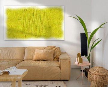 Abstract geel van Maurice Dawson