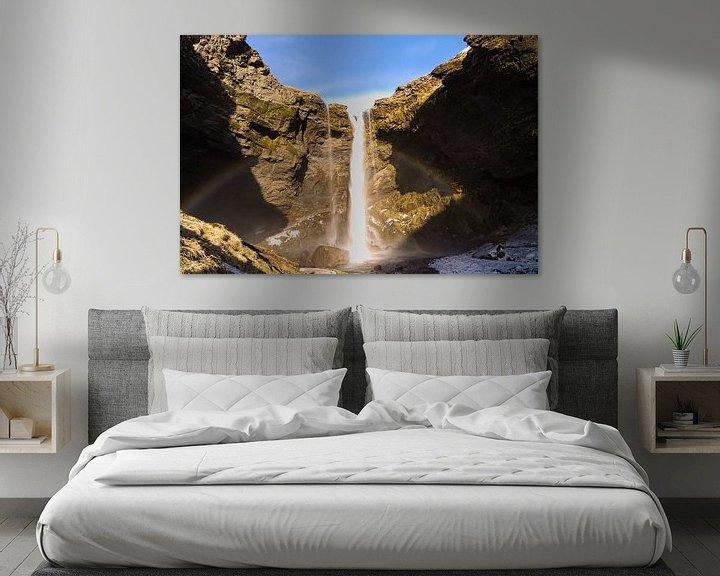Sfeerimpressie: Waterval van Leon Eikenaar