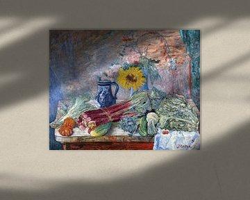 James Ensor. Blumen und Gemüse
